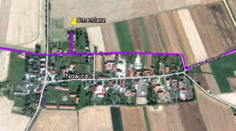Nowice mapa
