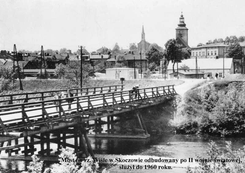 most-drewniany-na-rz-wisle-w-skoczowie-zbudowany-po-ii-wojnie-wiatowej
