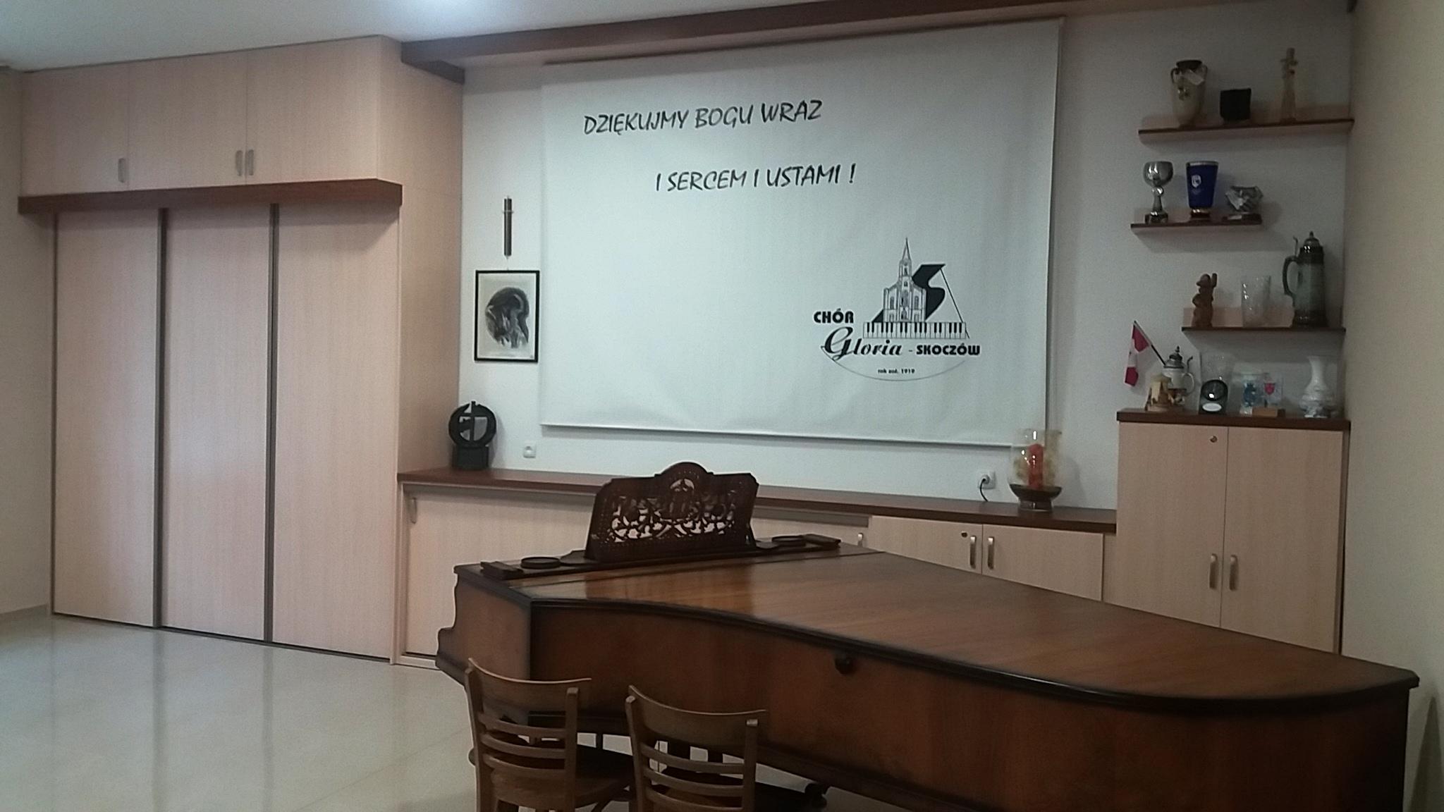 sala chórowa po remoncie