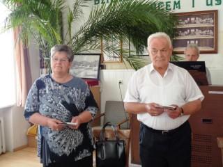 pastorowa  Janina i ks. Franciszek Czudkowie z Mikołajek