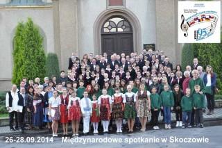 uczestnicy spotkania w Skoczowie w dniach 26-28.09.2014