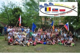 """Uczestnicy """"Spokania Trzech Narodów"""" w rumuńskim Nadlac w 2011 roku"""