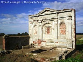 fragment ewangel. cmentarza w Siedlcach-Zakrzów. foto: WojOr.