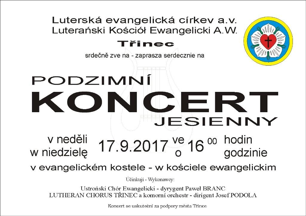 2017.09.17 Trzyniec Jesienny Koncert