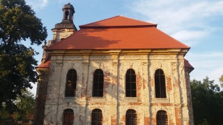 m. Goszcz .Były kościół ewang.